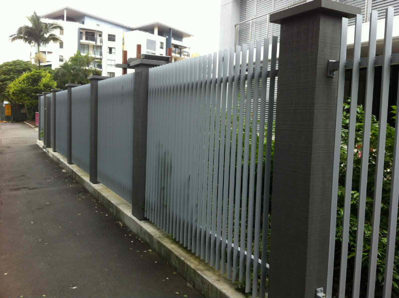Aluminium Fence Panels Brisbane August823